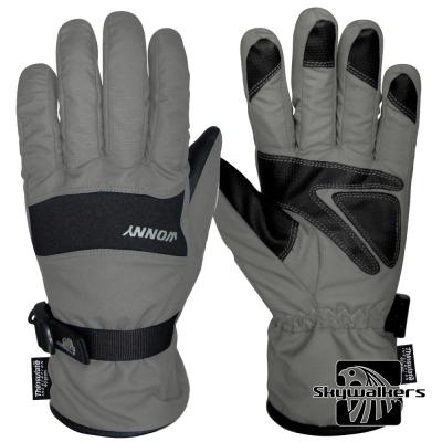 全防水透氣保暖手套(灰)
