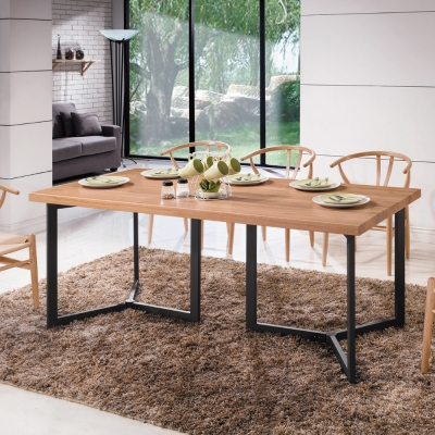 AS-諾斯特6尺餐桌-180x90x76cm