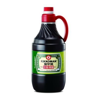 龜甲萬 甘醇薄鹽醬油(1600ml)