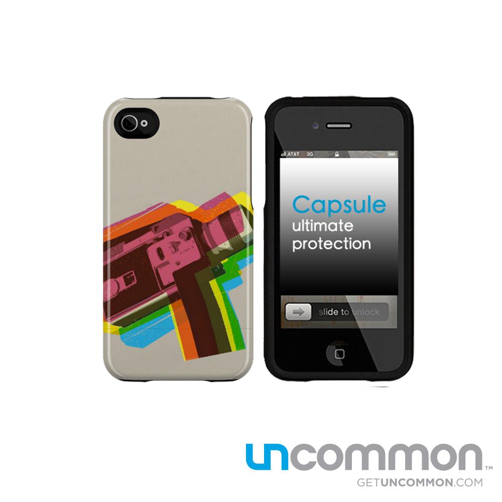 uncommon iPhone4/4S 滑蓋保護殼-film
