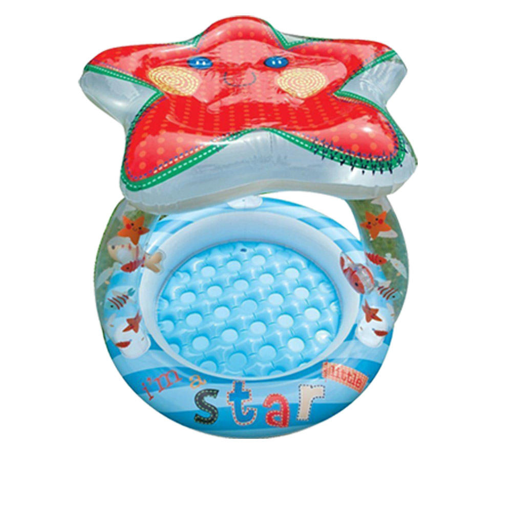 【INTEX】可愛海星遮陽嬰兒水池