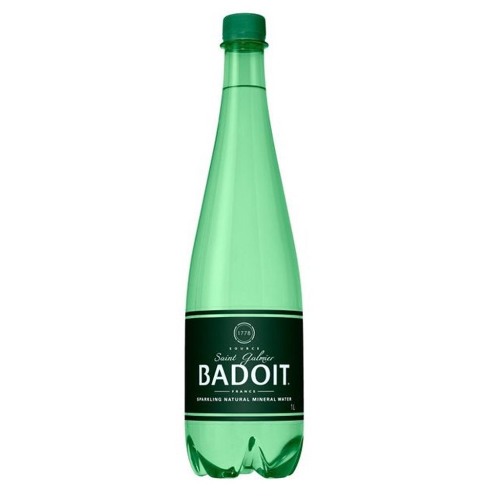 BADOIT 天然氣泡礦泉水(1000mlx12入)