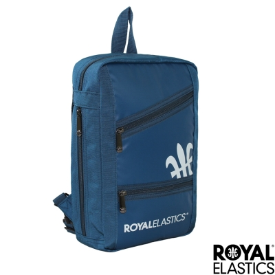 Royal Elastics - 運動可變形單肩/後背包 - Challenge挑戰系列 -藍色