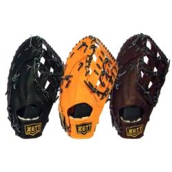 ZETT 高級硬式金標全指棒球手套 BPGT-113