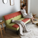 H&D Peacock撞色工業風沙發床-2色
