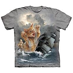 摩達客 美國進口The Mountain 白貓記 純棉環保短袖T恤