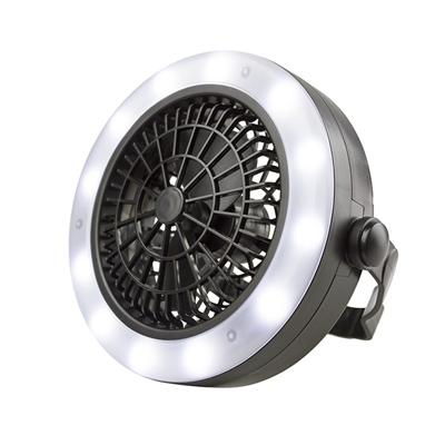 勳風 多功能露營燈LED手電筒/風扇(HF-B062U)電池/USB
