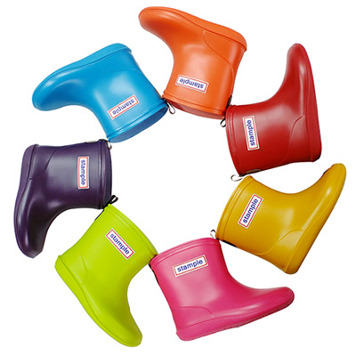 Stample日本製兒童雨鞋↘均一價$(公司貨)