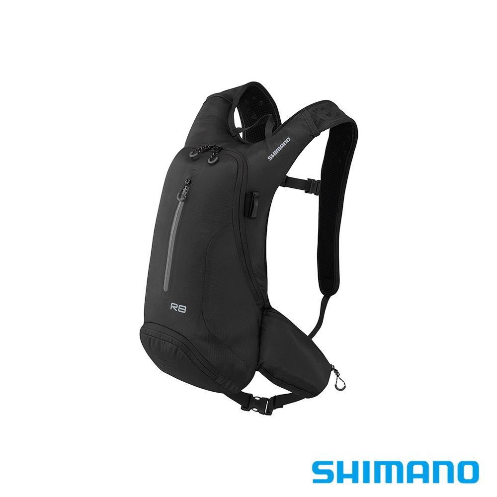 SHIMANO ROKKO 全功能背包-無水袋 8L 黑色