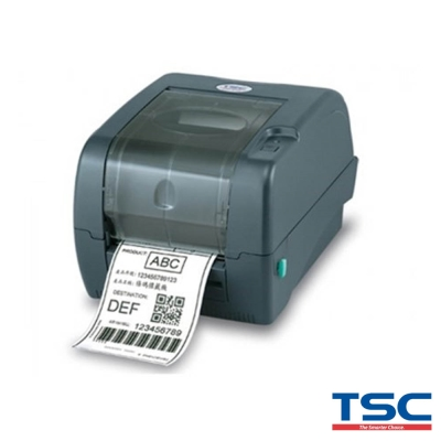 TSC TTP-345IE桌上型熱感式&熱轉式條碼機(送外掛紙架)