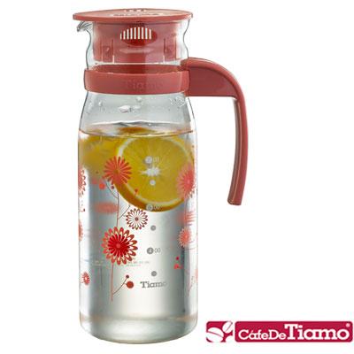 Tiamo 1215玻璃冷水壺 1200ml-二色