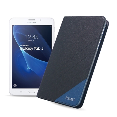 XM Samsung Tab J 7吋 完美拼色隱扣皮套