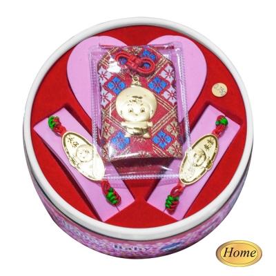 家家金品-永保安康雞(2分)套組(3件組)滿月禮-1