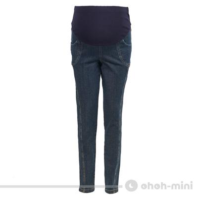 ohoh-mini嬌俏美臀顯瘦孕婦窄管牛仔褲