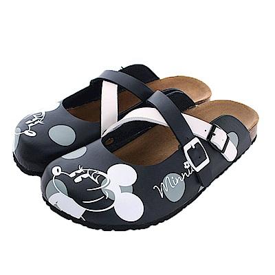 迪士尼米奇舒適便鞋 黑 sk0454 魔法Baby