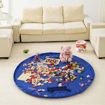 DF童趣館 - 寶寶玩具好好收!!超大玩具快速收納墊-大