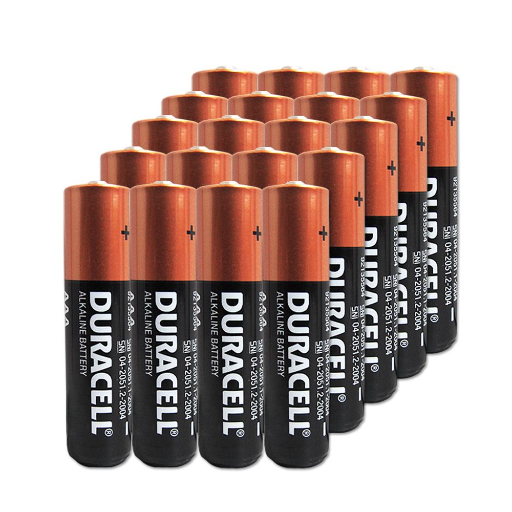DURACELL 金頂 4號AAA鹼性電池 (20入超值包)