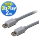 曜兆DIGITUS Mini DisplayPort-2公尺圓線(公-公) product thumbnail 1