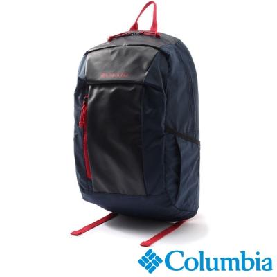 【Columbia哥倫比亞】日版20L雙肩後背包-深藍色 UPU81280NY