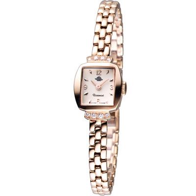 玫瑰錶 Rosemont 骨董風玫瑰系列優雅時尚錶-玫瑰金/16x17mm
