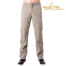 【hilltop山頂鳥】男款WS防風防小雨保暖長褲H31MK2橡木