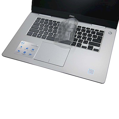 EZstick DELL Inspiron 15 7570 P70F 奈米銀TPU 鍵盤膜