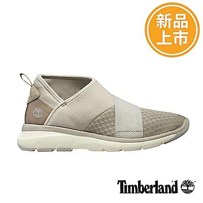 Timberland 女款米白色鬆緊帶休閒鞋