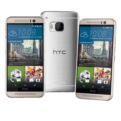 LUCCIDA HTC One M9 全透明加強抗刮保護殼