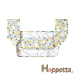 Hoppetta 波爾卡進行曲揹巾環繞墊(藍)