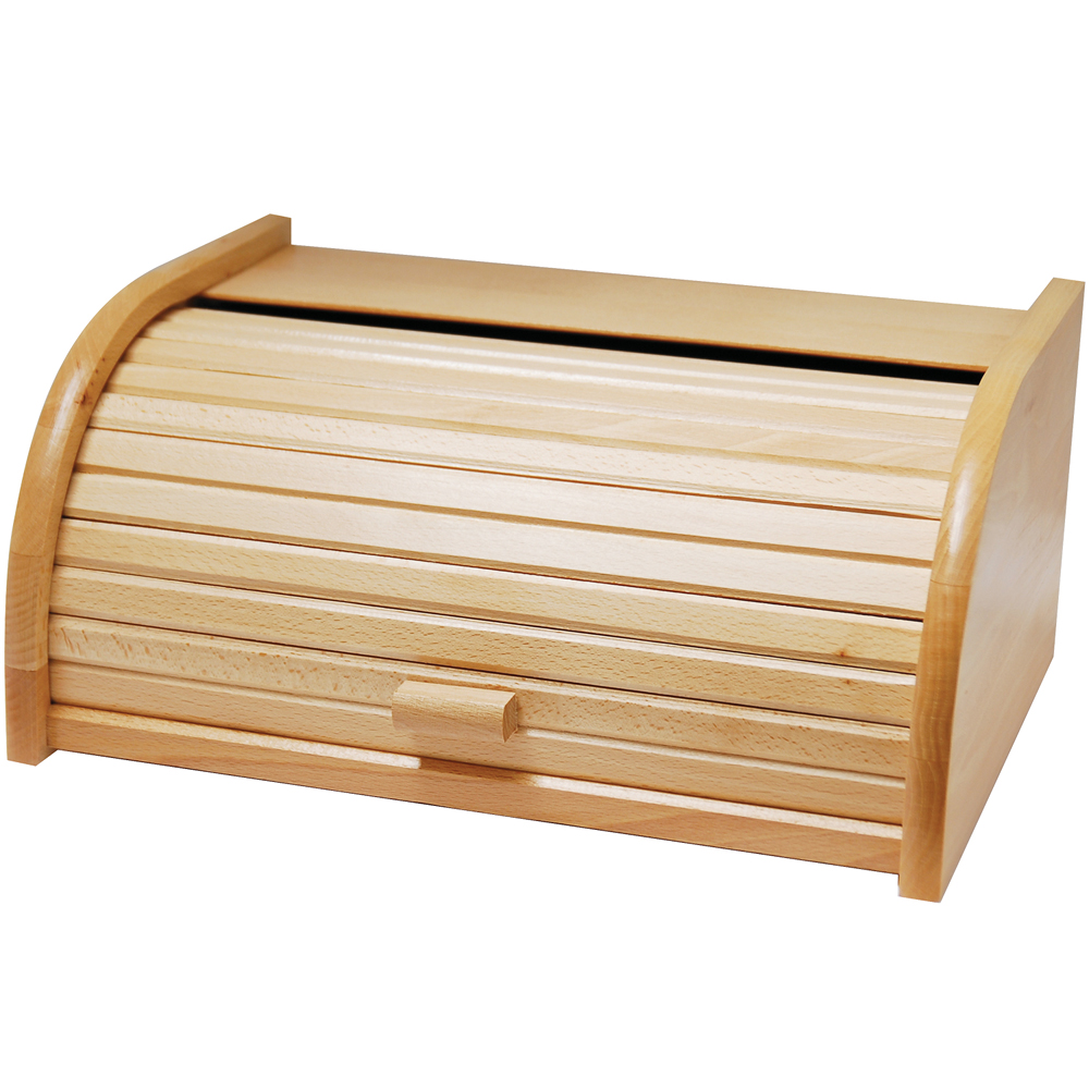 EXCELSA Realwood捲蓋麵包收納盒