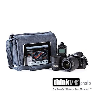 Think Tank - Retrospective 7-復古側背包 (藍) -RS748
