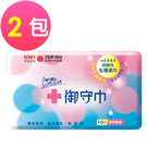 康乃馨 御守巾 (生理濕巾) 10片x2包/組 - 無香