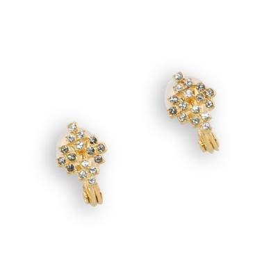 JewCas Air Earring系列施華洛世奇水晶菱形耳環_JC2260