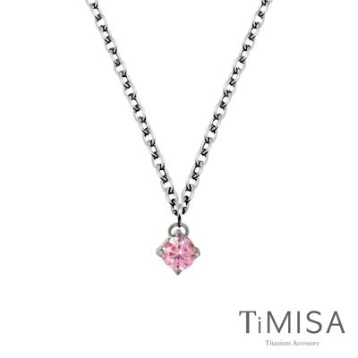 TiMISA《純淨光芒 純鈦項鍊(E)-(7色可選)