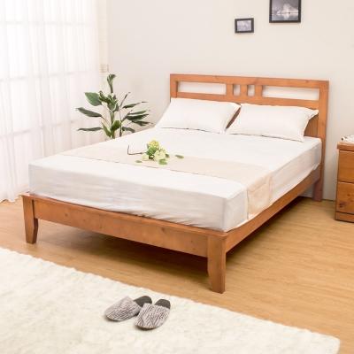 Boden-雀莉5尺實木雙人床架