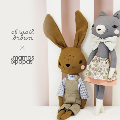 【Mamas & Papas】Abigail Brown 湯姆兔-玩偶
