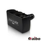 aibo AB431 車用USB點煙器擴充座(雙USB埠+雙點煙器)-3100mA-快