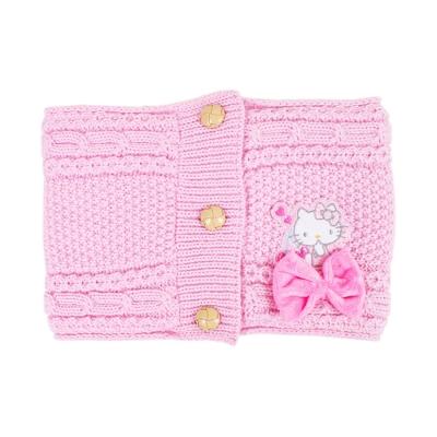 Sanrio HELLO KITTY女童用前扣式針織脖圍(蝴蝶結)