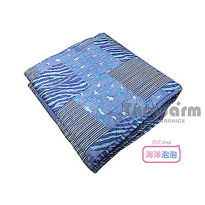 Thewarm韓國七段恆溫定時電熱毯(雙人) 花樣隨機出貨