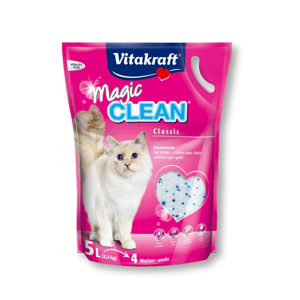 【兩包】Vitakraft神奇抗菌水晶貓砂5L(原味)