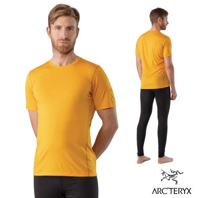 Arcteryx 始祖鳥 男 Phase SL 輕量排汗衣 橘