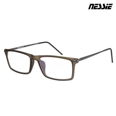 【Nessie尼斯眼鏡】抗藍光眼鏡-經典系列-知性墨綠