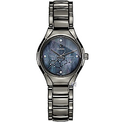 RADO雷達真我系列12星座時尚腕錶-處女座(R27243932)-30mm