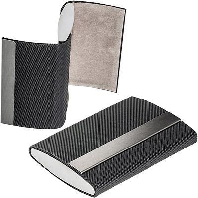 REFLECTS 點紋磁性雙層名片盒