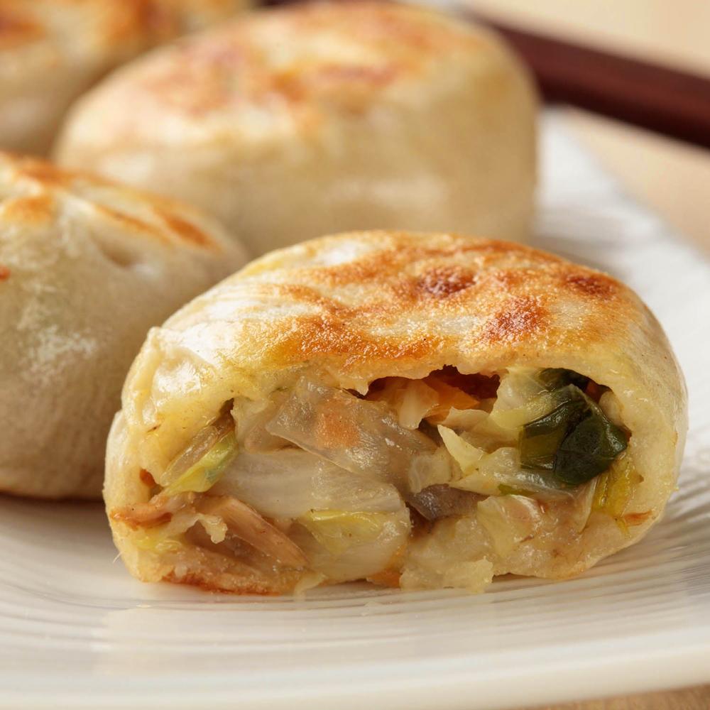 蔥媽媽 鮮蔬百匯素食餡餅 (210顆/6包)