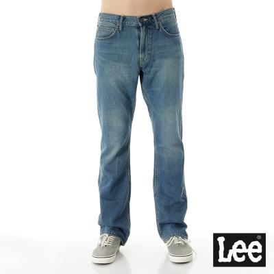 Lee 牛仔褲 743 中腰舒適直筒有型好搭配-男款 淺藍