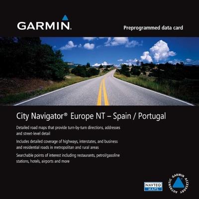GARMIN 西班牙/葡萄牙 地圖卡-快