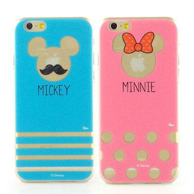 Disney iphone 6 /6s 彩繪現代風透明保護手機殼
