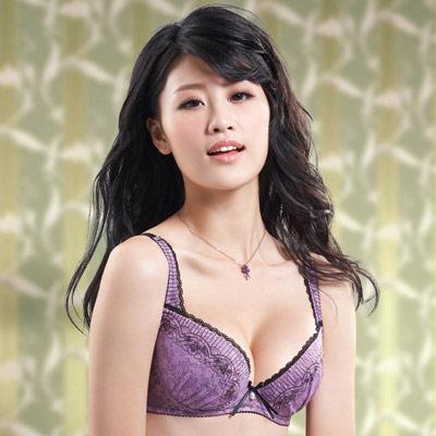 莎薇-好愛現系列D罩杯內衣-薰衣紫