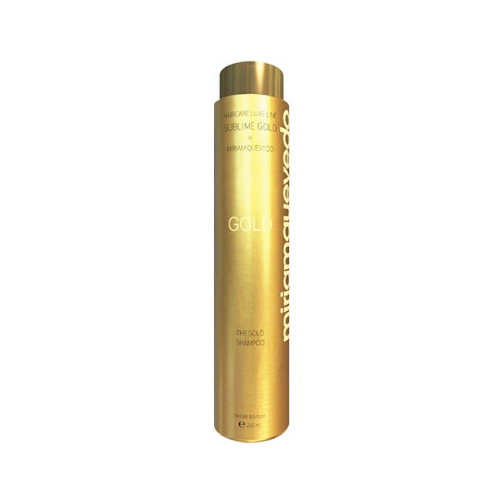 Miriamquevedo 迷蓮卡薇 極致黃金奢護系列 公司貨 黃金洗髮乳250ML